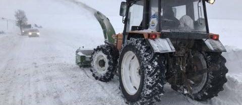 Снігоочисна техніка в роботі