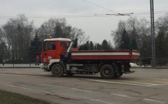 Працівники «Авакс Проф» зібрали та вивезли 13 вантажівок вуличних зметів